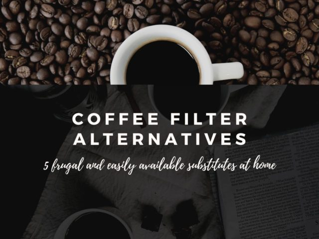 Best Coffee Filter Substitutes