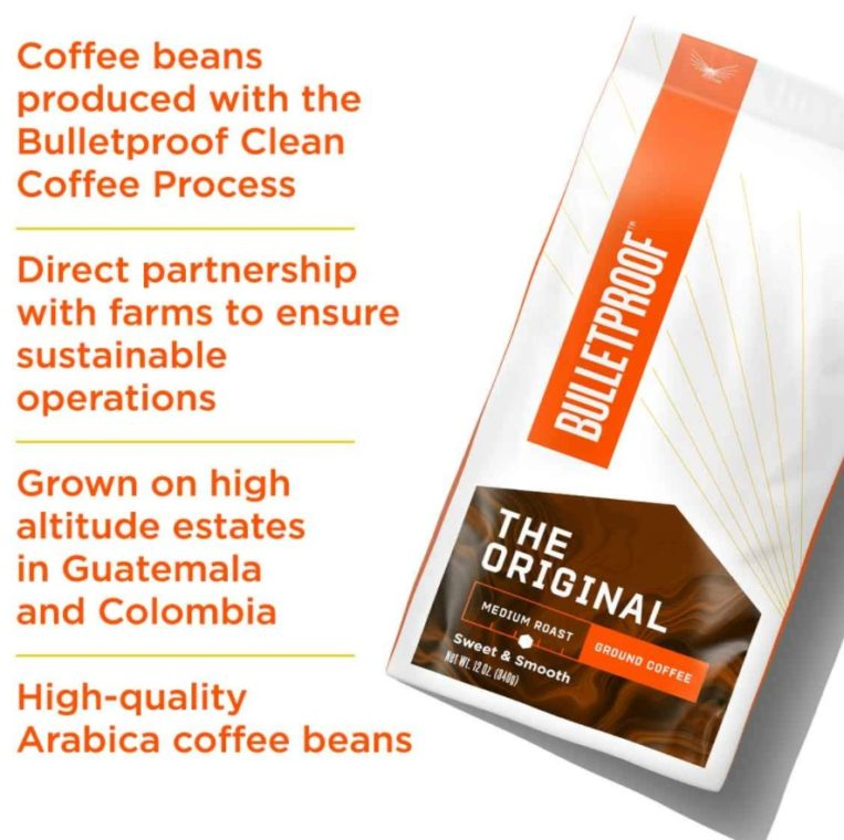 Bulletproof The Original Ground Coffee for French Coffee