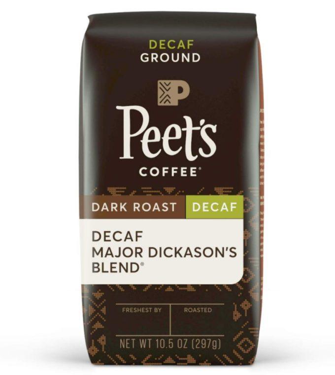 Peet's Coffee Decaf Major Dickason's Blend