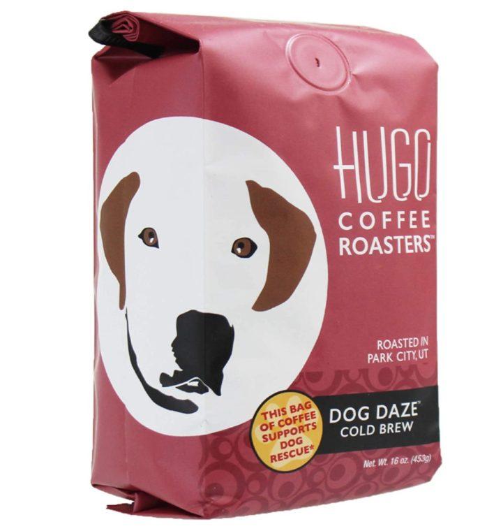 Hugo Coffee Ground Dog Daze Cold Brew Coffee with Chocolate